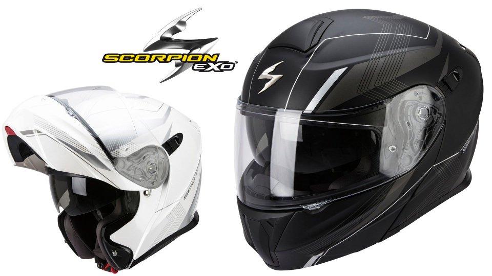 news prodotto scorpion exo 920 il casco perfetto per. Black Bedroom Furniture Sets. Home Design Ideas