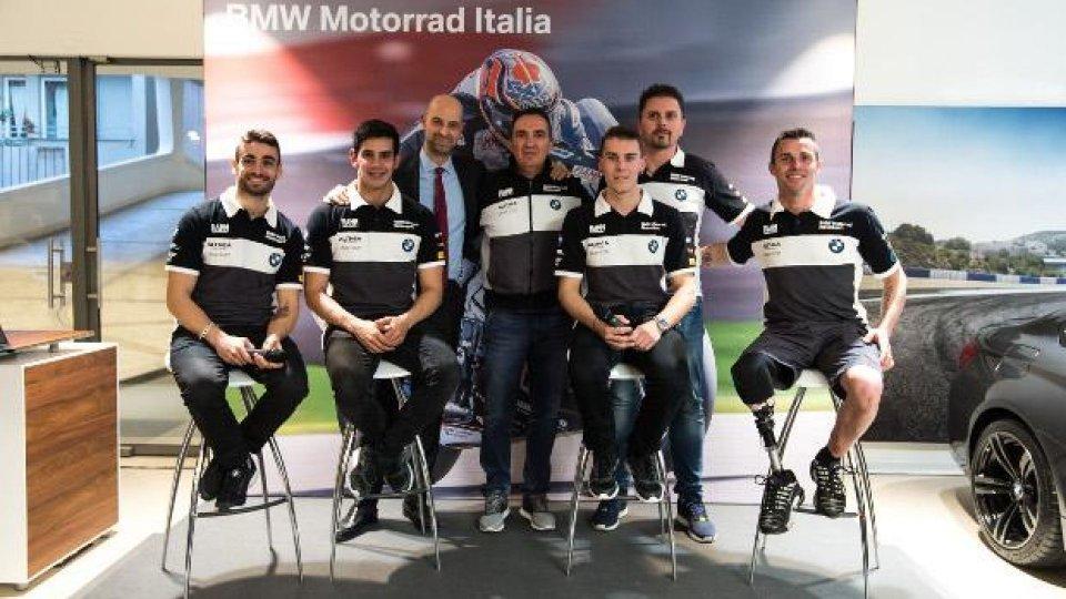Moto - News: Una serata con il Team BMW Motorrad Italia