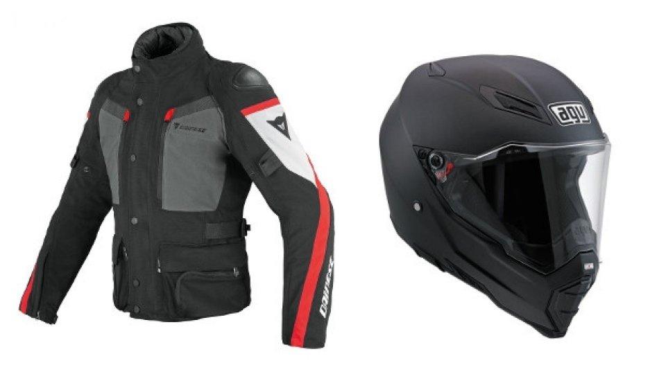 Moto - News: Abbigliamento Dainese e AGV: operazione Tourist Trophy