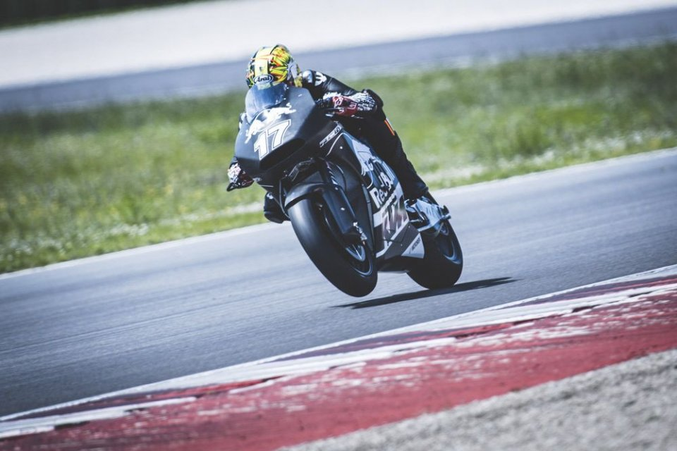 KTM: Misano test with Kallio and Abraham