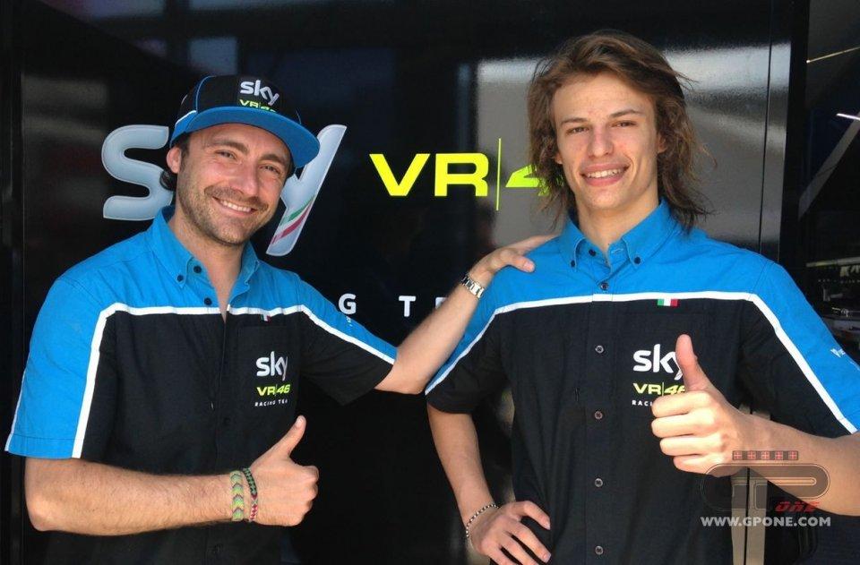 Rinnovo biennale con lo Sky Racing Team VR46 per Bulega