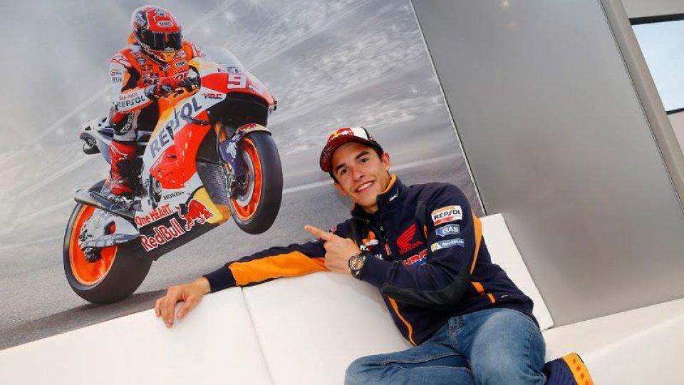 Marc Marquez extends Honda MotoGP contract to 2018