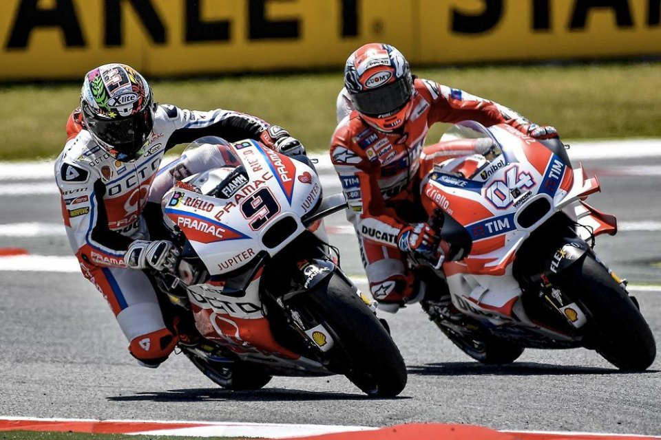 Dovizioso: something abnormal happened to the tyre