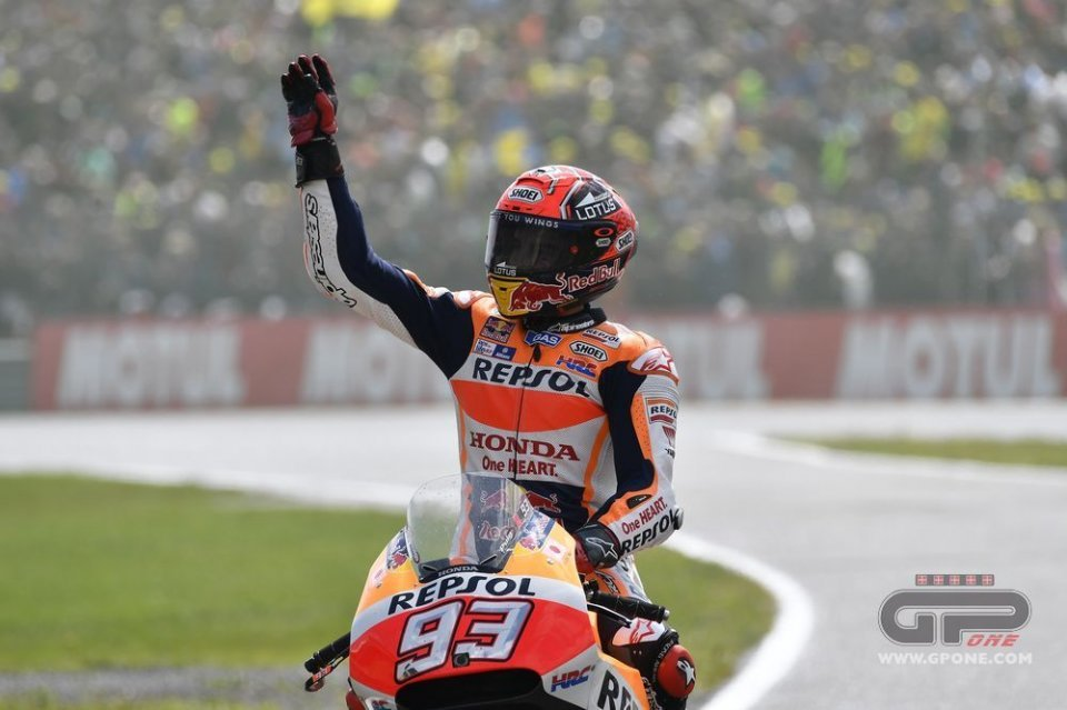 Marquez: 2nd, but it is worth the same as a win