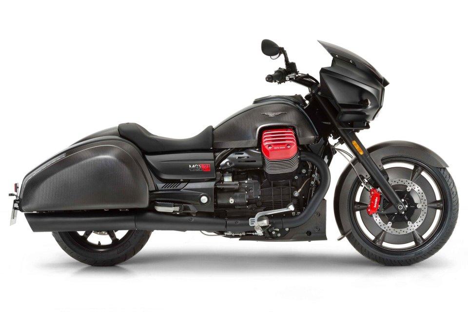 Moto - News: Moto Guzzi MGX-21: prebooking is now open