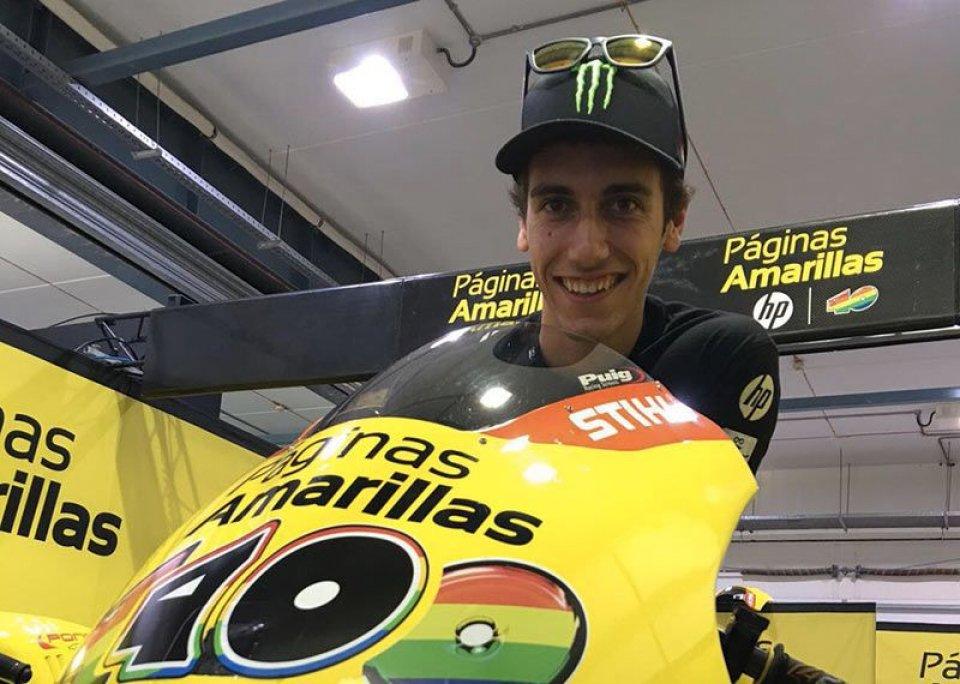 Moto2: Alex Rins si frattura la clavicola sinistra, domani l'operazione