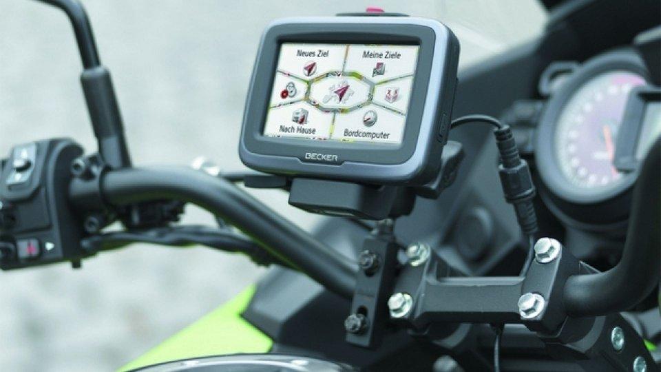 Moto - News: Arriva il nuovo Becker Mamba 4, navigatore con funzioni dedicate alle moto
