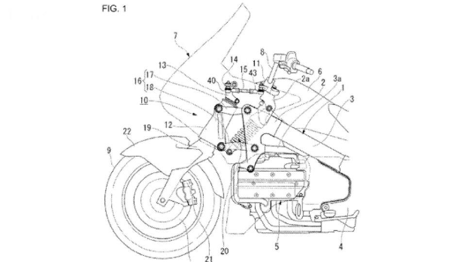Moto - News: Honda Gold Wing 2017: avrà la forcella a parallelogramma?