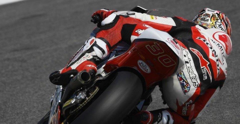 Baldassarri, prima vittoria in Moto2 Il podio di Misano parla marchigiano