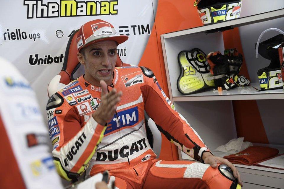 MotoGP, test a Misano: infortunio per Dovizioso