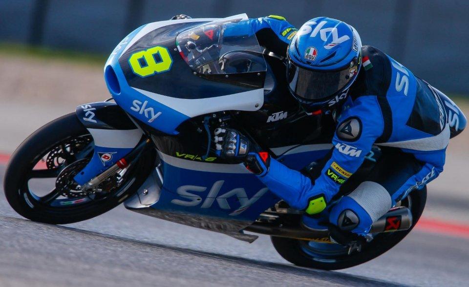 Moto3, Binder davanti a tutti