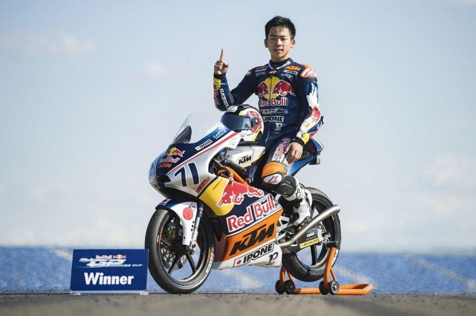 Moto3, Phillip Island: Vertebra fratturata per Bastianini
