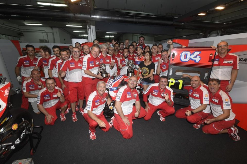 MotoGp: Dovizioso detta legge in Malesia, Rossi secondo