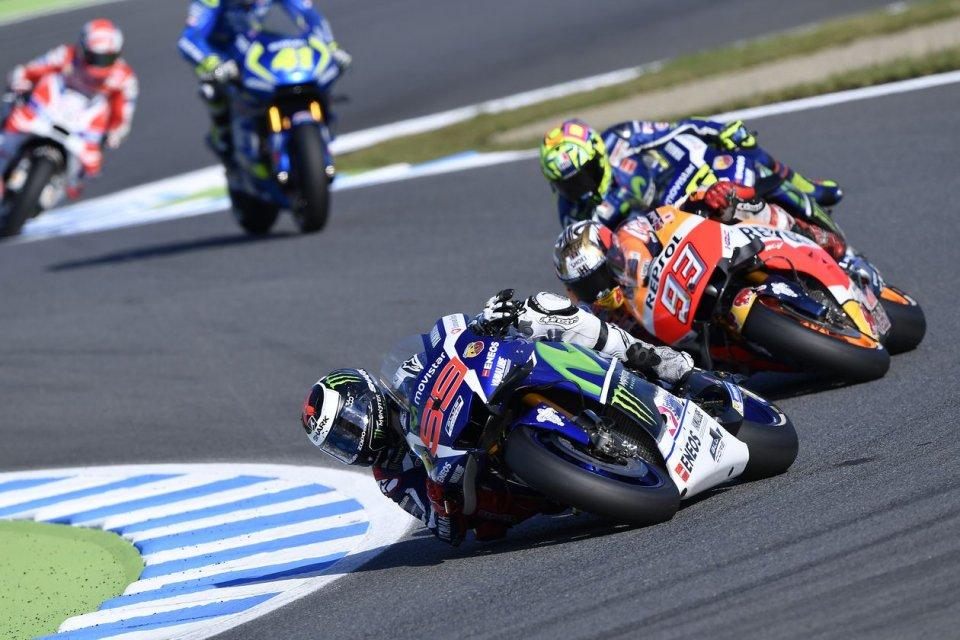 MotoGP | La pioggia rovina i giochi per i piloti a Phillip Island