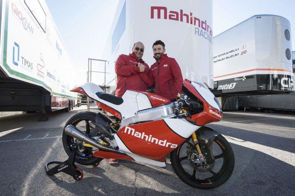 Biaggi team manager Mahindra: è ufficiale