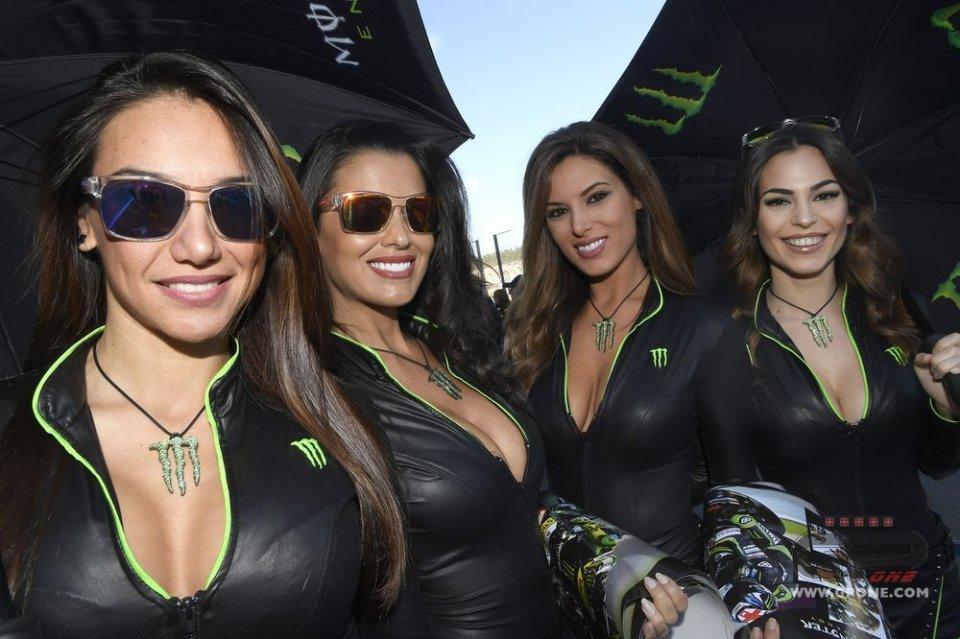 FOTO. Le belle... della MotoGP a Valencia