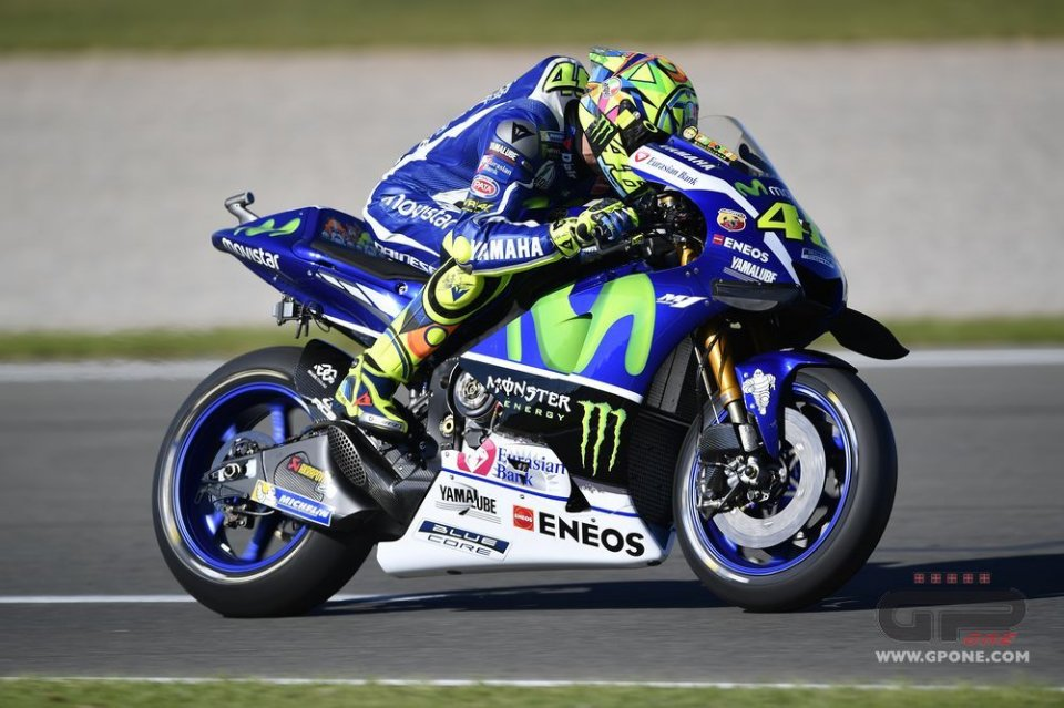 Rossi: M1 2017? the frame is good, the engine's bad