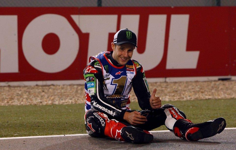 Gara 1 Superbike Qatar 2016, trionfa Davies