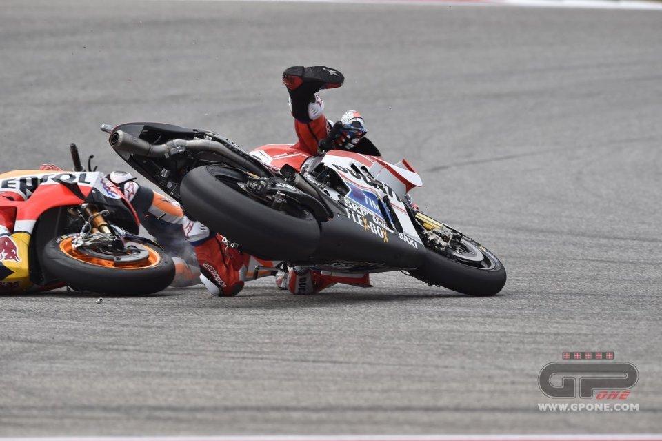 MotoGP, Andrea Dovizioso 'Paperino' ad Austin | GPone.com