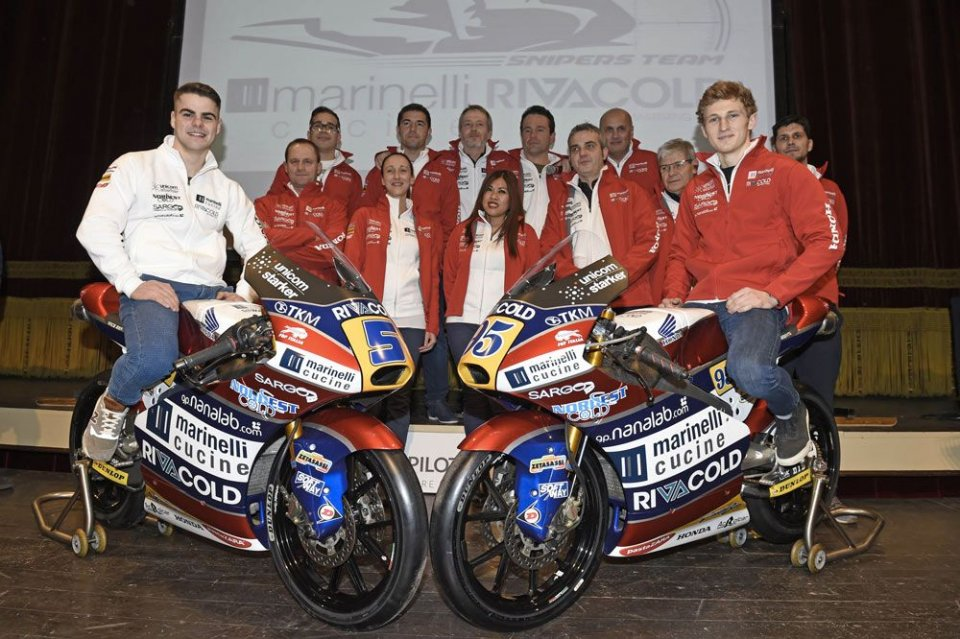 Moto3, Snipers Team con Fenati per centrare il titolo Moto3