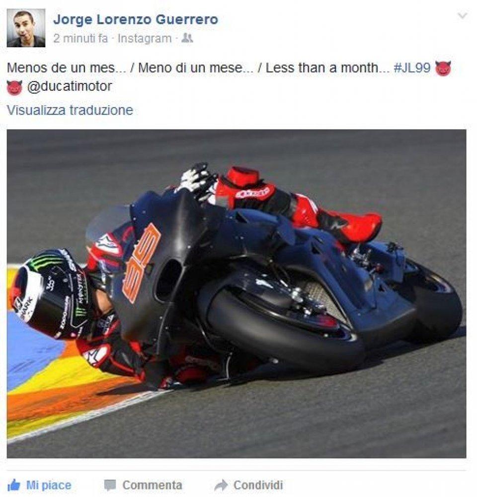 Lorenzo counts down to Sepang