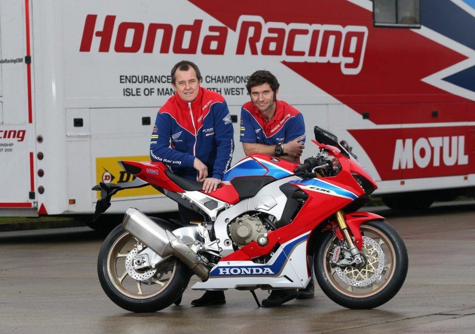 Guy Martin returns to the TT astride the factory Honda