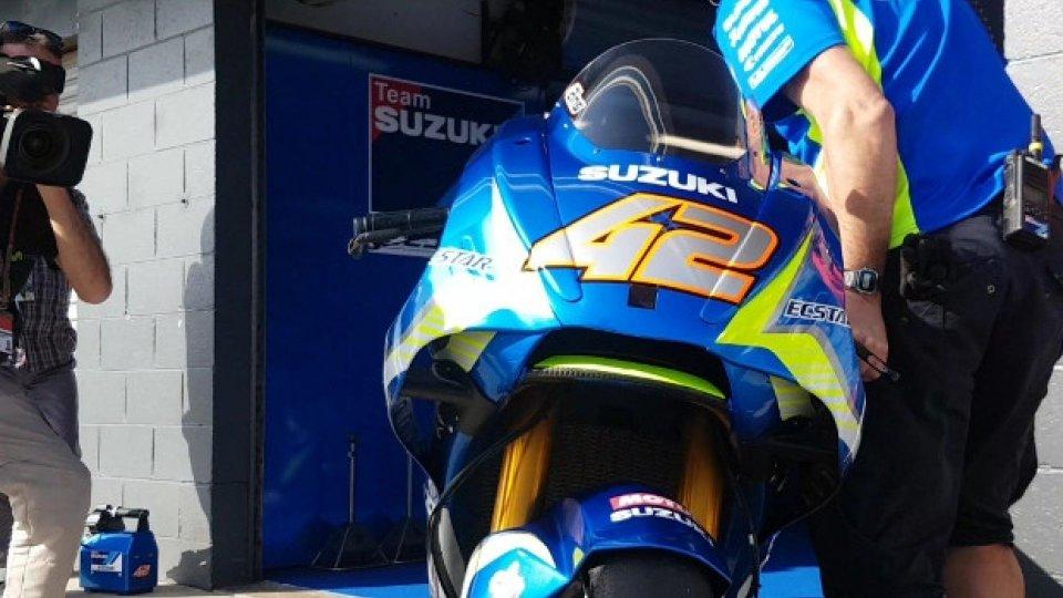 Moto - News: MotoGP: anche Suzuki e Aprilia giocano con l'aerodinamica