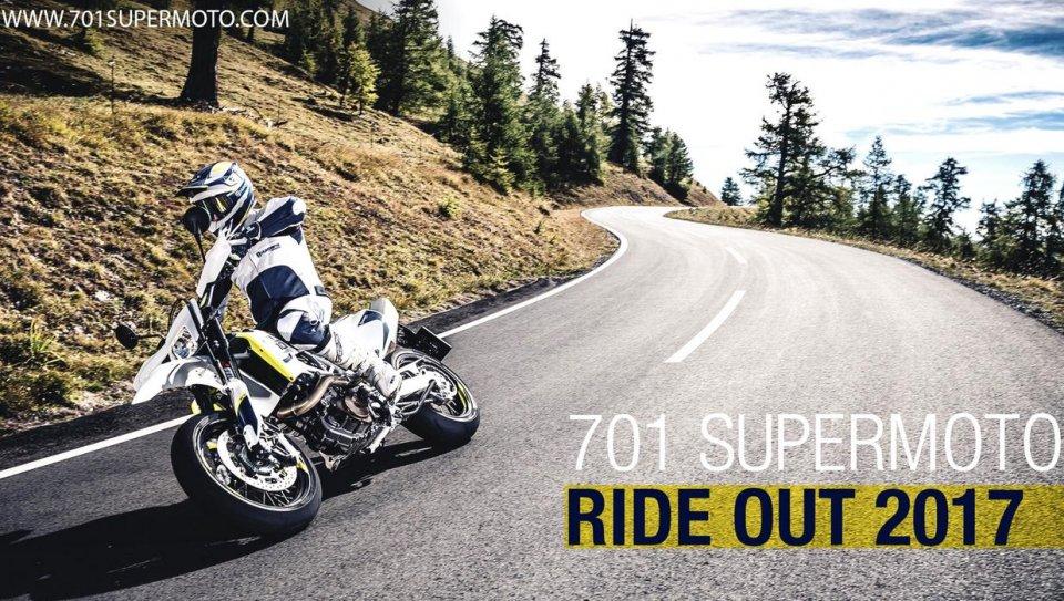 Moto - News: Husqvarna: 701 Supermoto Ride Out 2017, verso la California