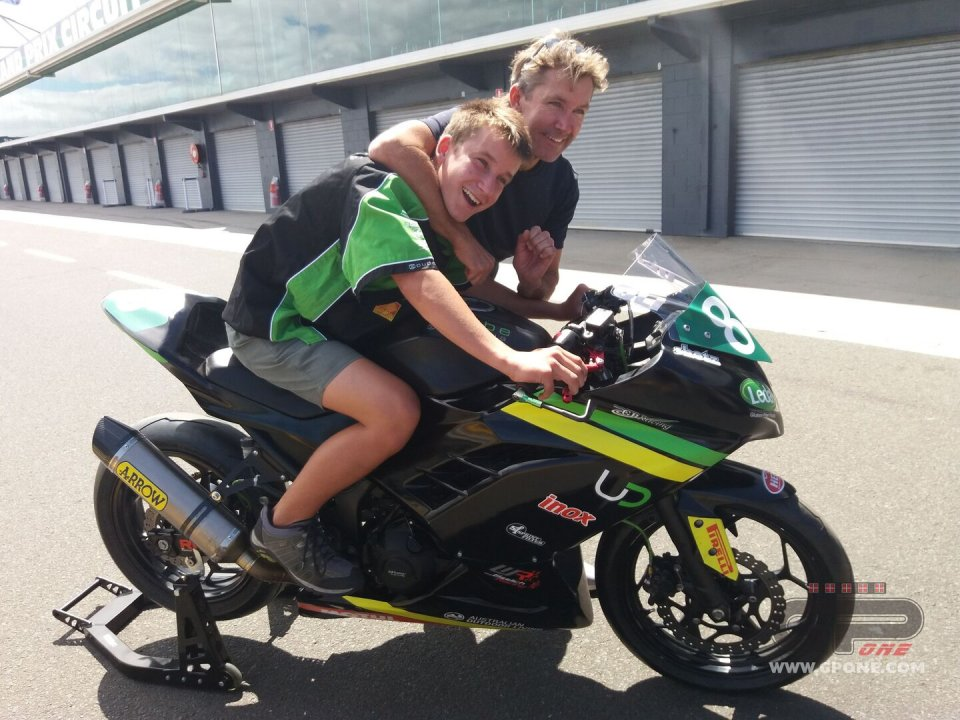 """SBK: Oli Bayliss: """"Dad and I are different, but our riding is the same"""""""