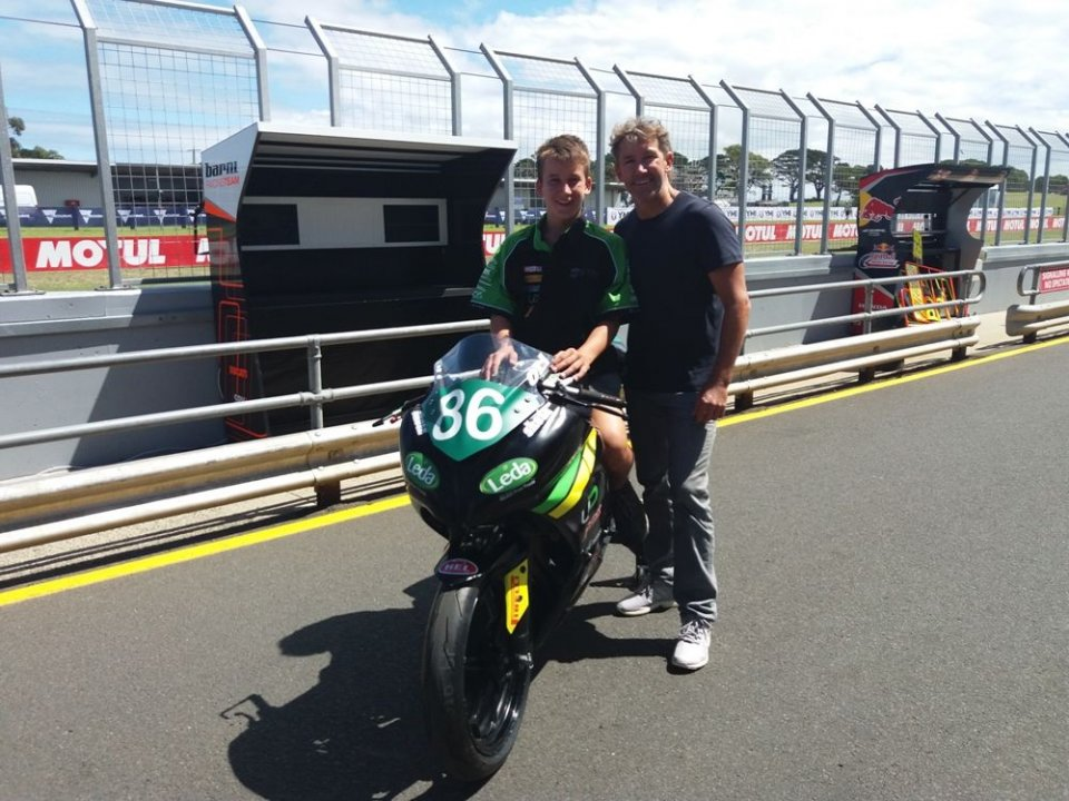 """SBK: Bayliss: """"Today I learn from my son. The titles? Rea and Rossi"""""""