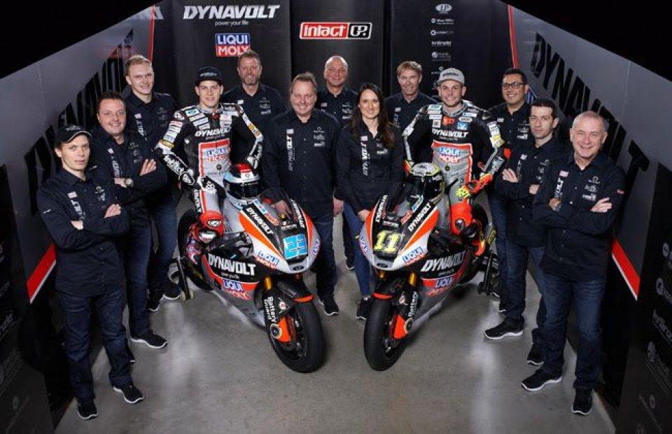 Moto2: Dynavolt Intact GP pronta a stupire con la Suter