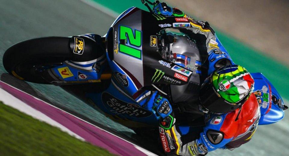 Moto2: Morbidelli la mette giù dura: domina il GP del Qatar
