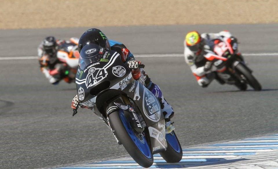 Moto3: Test Jerez: Canet svetta, Fenati insegue