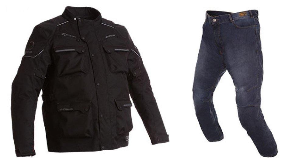 Moto - News: Bering, la nuova linea di abbigliamento extra large