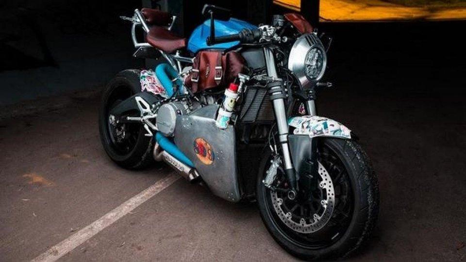 Moto - News: Ducati Panigale 899, Matt Errey stravolge la supersportiva bolognese