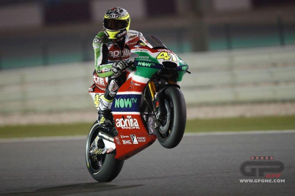 MotoGP: Aleix Espargarò: lotterò per partire davanti