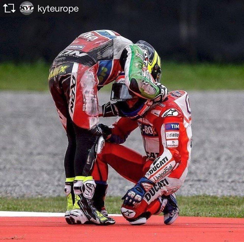 MotoGP: Aleix Espargarò e Andrea Dovizioso: fair play