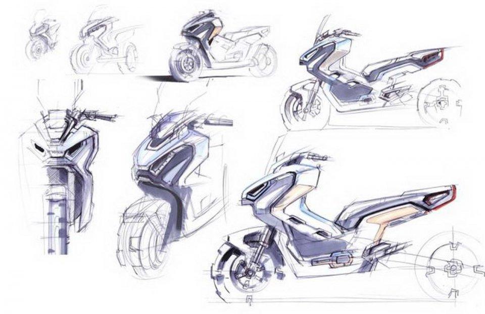 Moto - News: L'Honda X-ADV incontra il mondo dell'arte: a tutto design