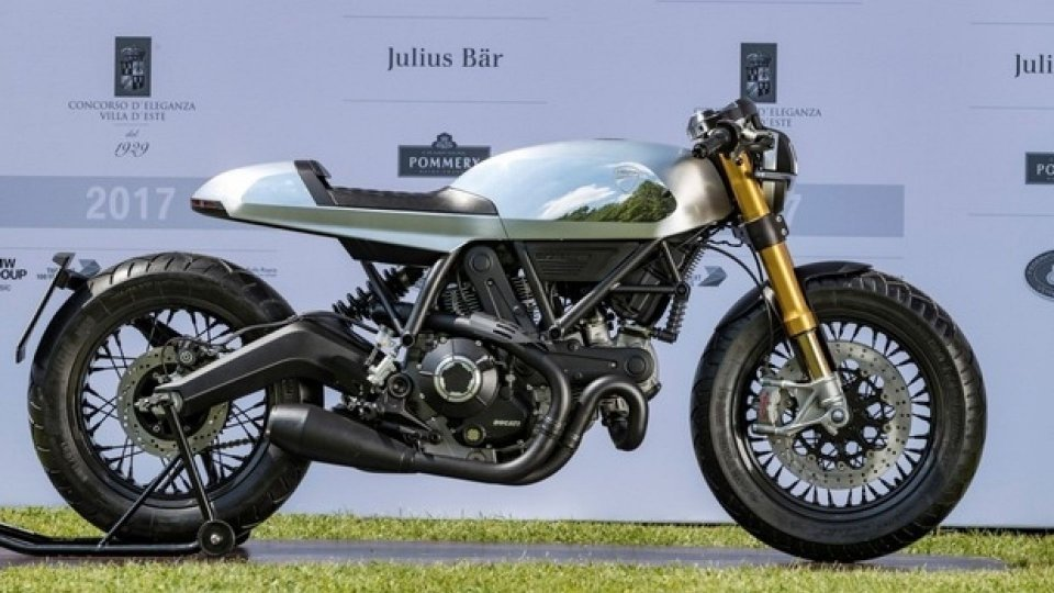 Moto - News: Ducati: a Villa d'Este premiata la Café Racer su base Scrambler
