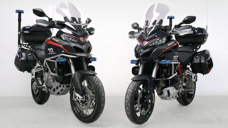 Moto - News: Ducati in forze alla Benemerita