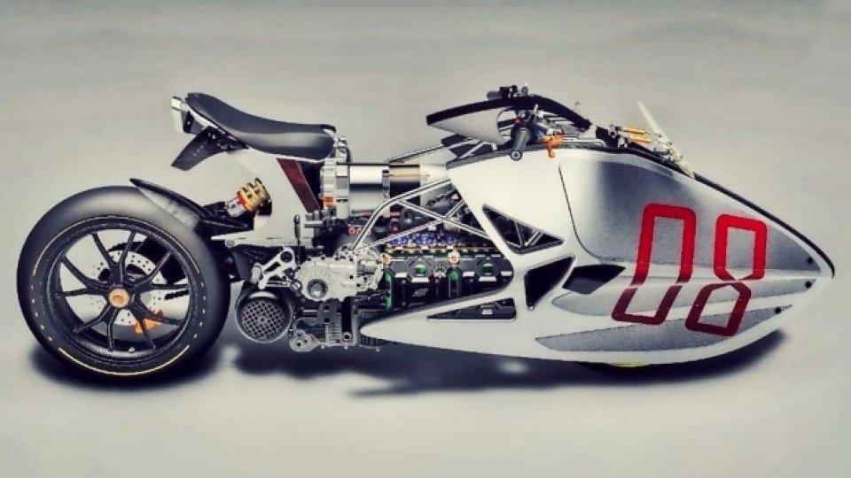 Moto - News: Fulcrum Sprint: dall'India un dragster elettrico