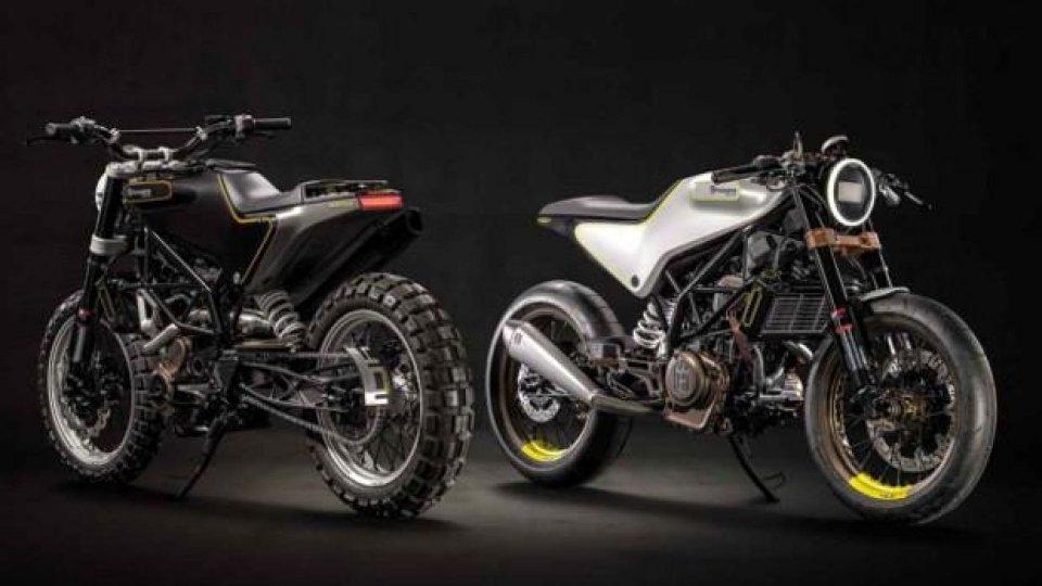 Moto - News: Husqvarna: Vitpilen e Svartpilen in dirittura d'arrivo