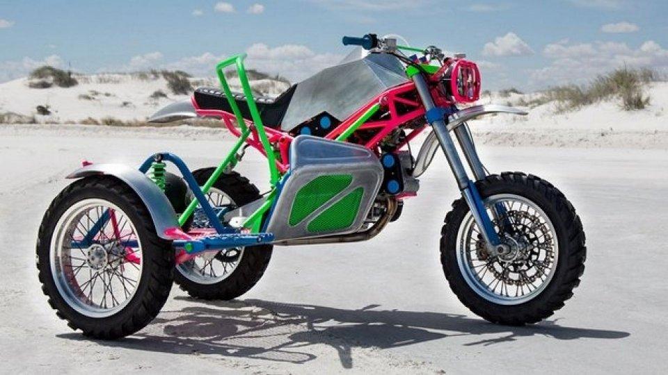 """Moto - News: Un """"Odioso"""" Sidecar Ducati, quello di Revival Cycles"""