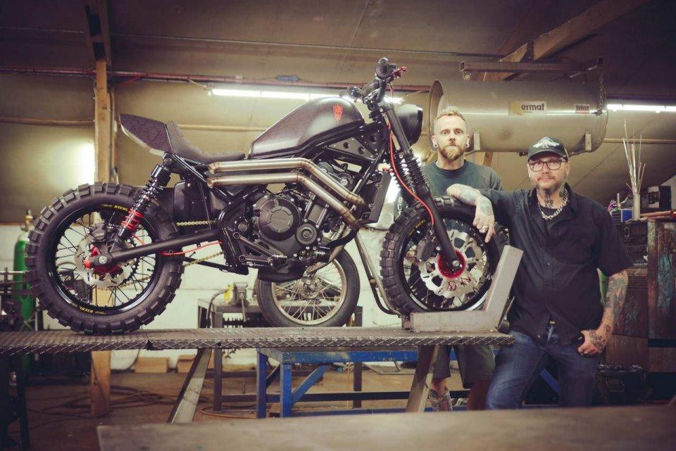 "Moto - News: Honda Rebel e CB1100TR concept a ""The Bike Shed"" 2017 di Londra"