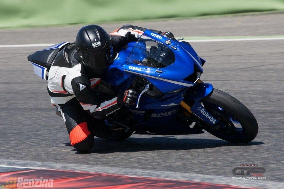 Moto - Test: Yamaha YZF-R6: media bollente