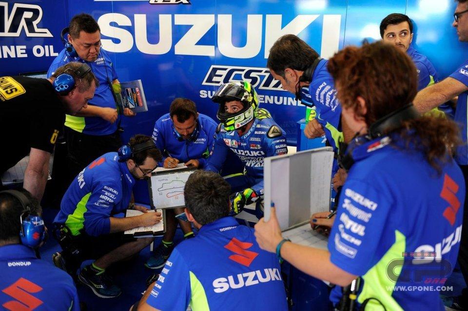 MotoGP: Iannone: ho perso 3 Kg in 3 giorni, sono distrutto
