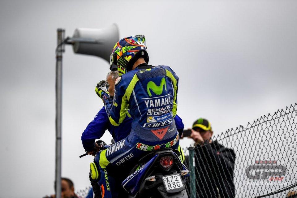 MotoGP: Rossi: lento sia sull'asciutto che sul bagnato