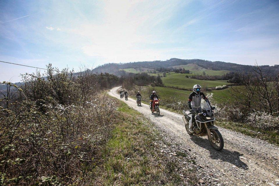 Moto - News: Honda: Africa Twin True Adventure Toscana 2017