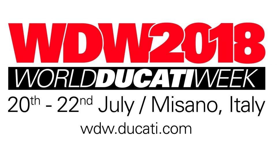 Moto - News: Torna nel 2018 il World Ducati Weekend a Misano