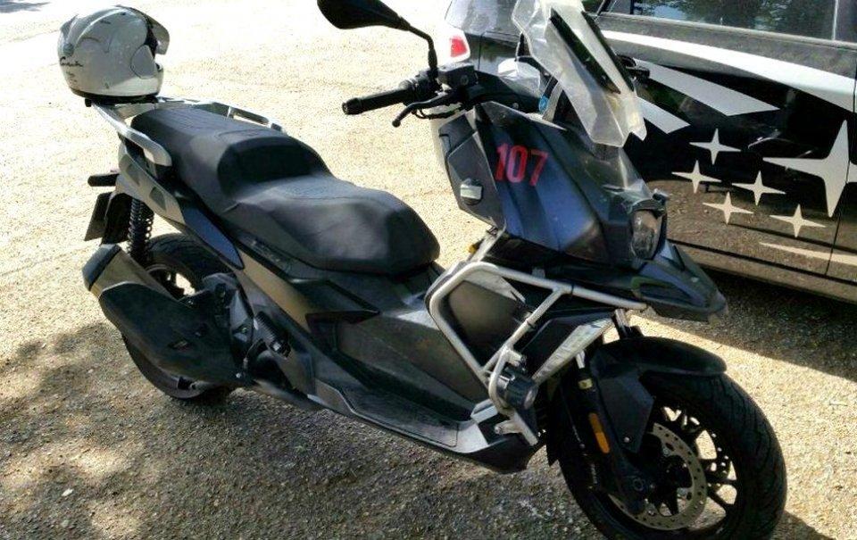 "Moto - Scooter: BMW risponde ad Honda: ecco lo scooter ""GS"""